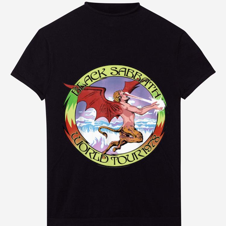 Premium Black Sabbath Official World Tour 1978 shirt