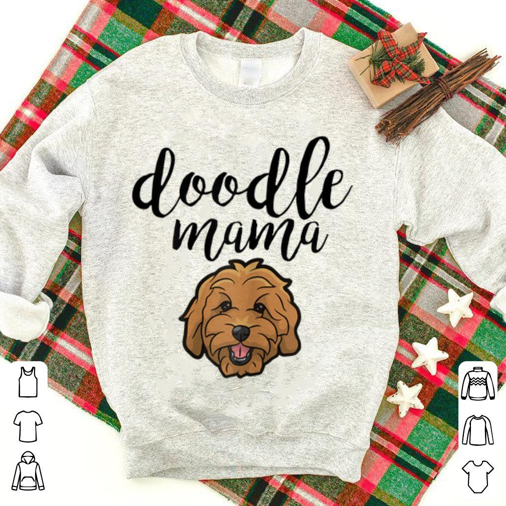 Premium Doodle Mama Cute Dog Face Goldendoodle