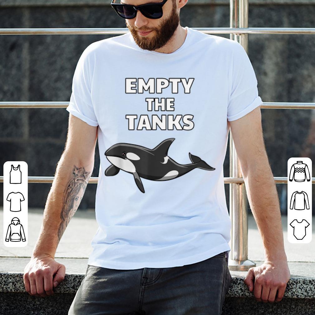 Premium Empty the Tanks Orca Activist Orca Lover shirt