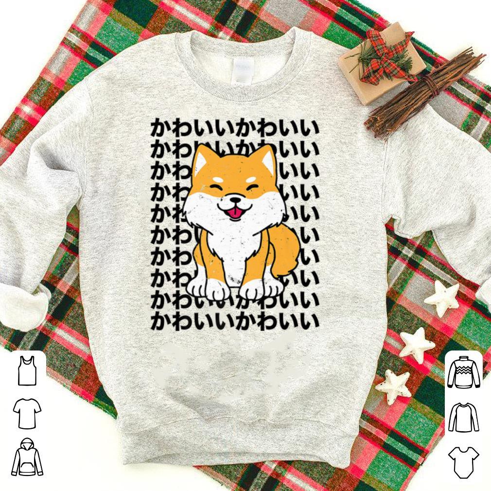 Premium Japanese Mother's Day Dogs Vintage Shiba Inu Kawaii shirt
