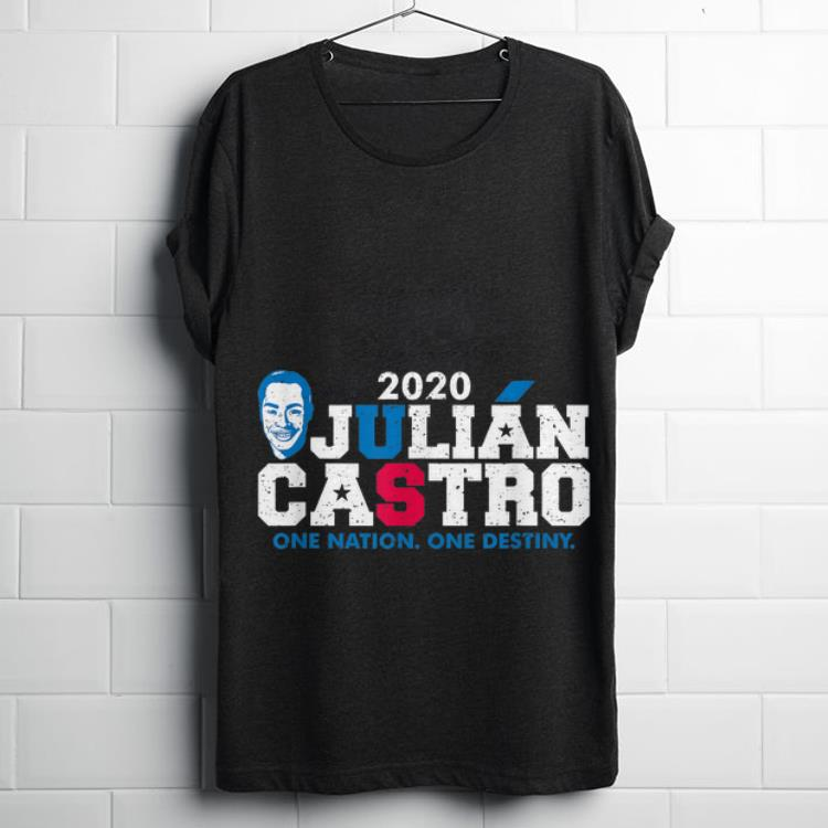 Premium Mayor of San Antonio Julian Castro One Nation One Destiny shirt