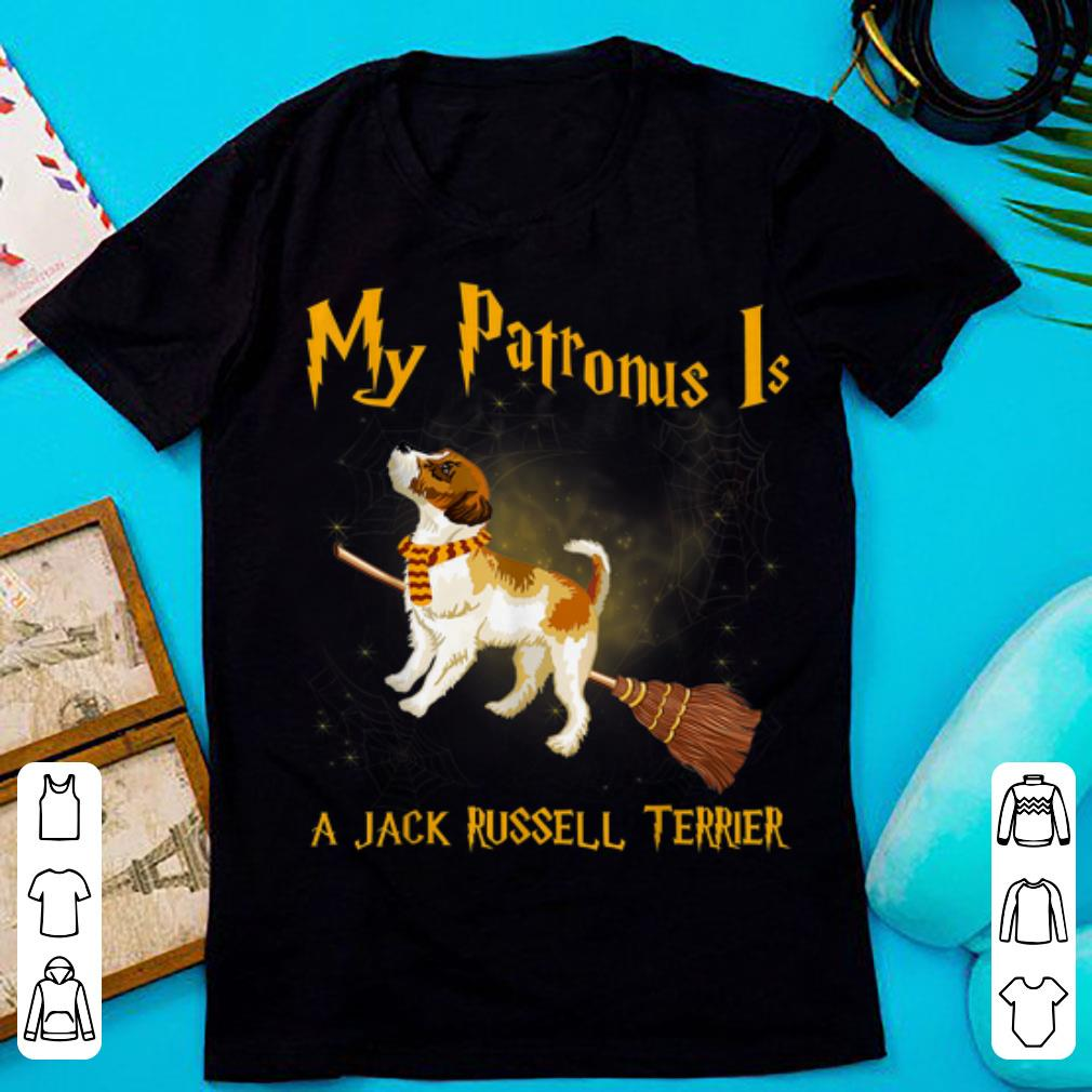 Premium My Patronus Is Jack Russell Terrier Harry Terrier shirt 1 - Premium My Patronus Is Jack Russell Terrier Harry Terrier shirt