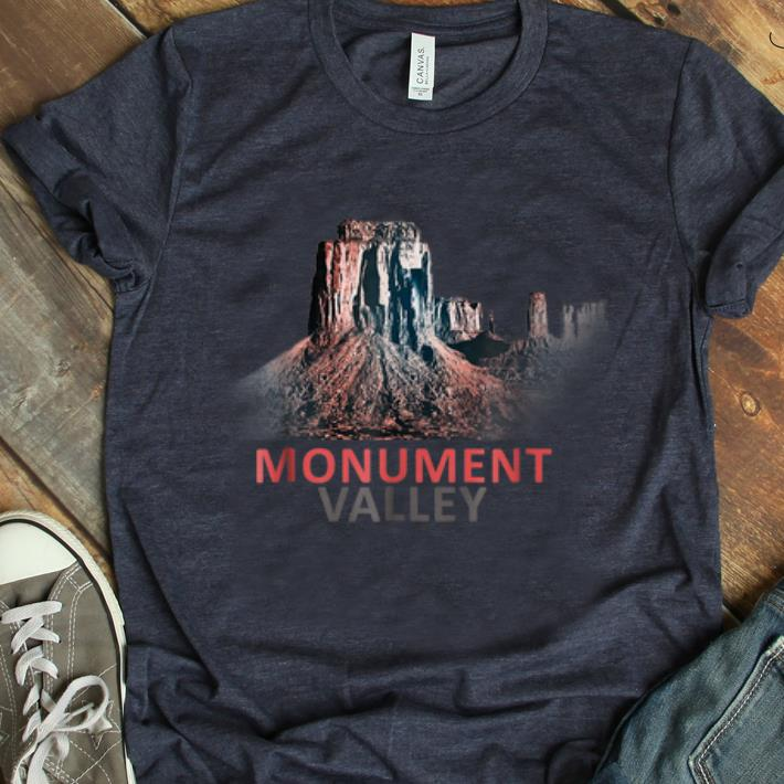 Premium Natural Wonders Of The World Monument Valley shirt