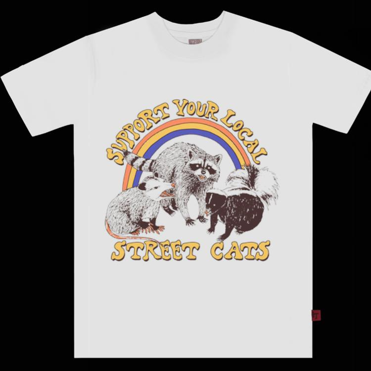 Premium Support Your Local Street Cats Ratel Mouse shirt