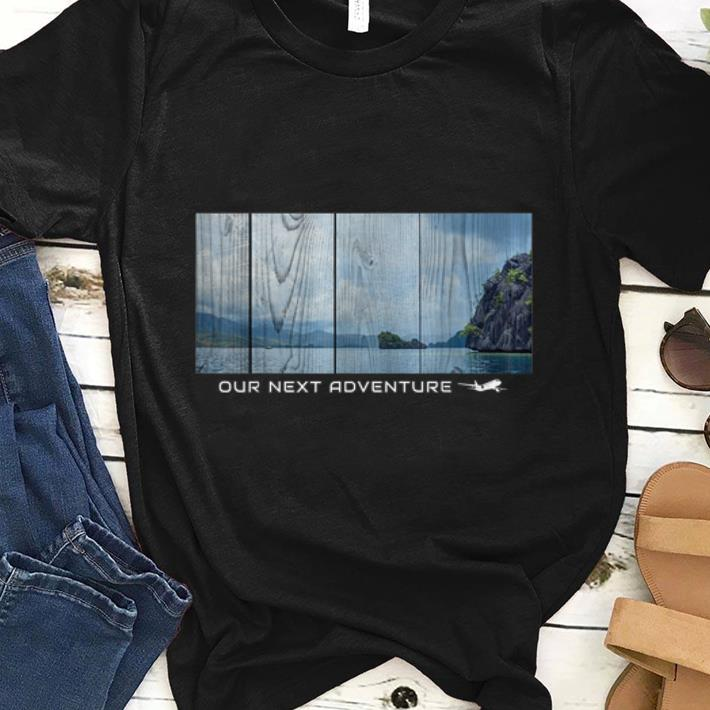 Premium Travelling Abstract Adventures And Beach Holiday shirt
