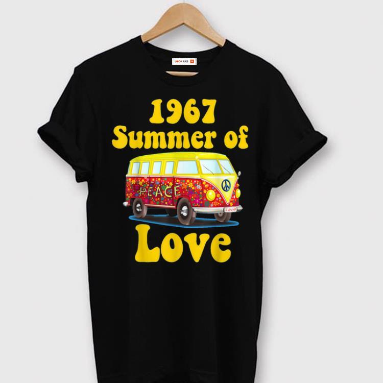 Pretty 1967 Summer Of Love Retro Tees Vintage Sixties Hippie shirt