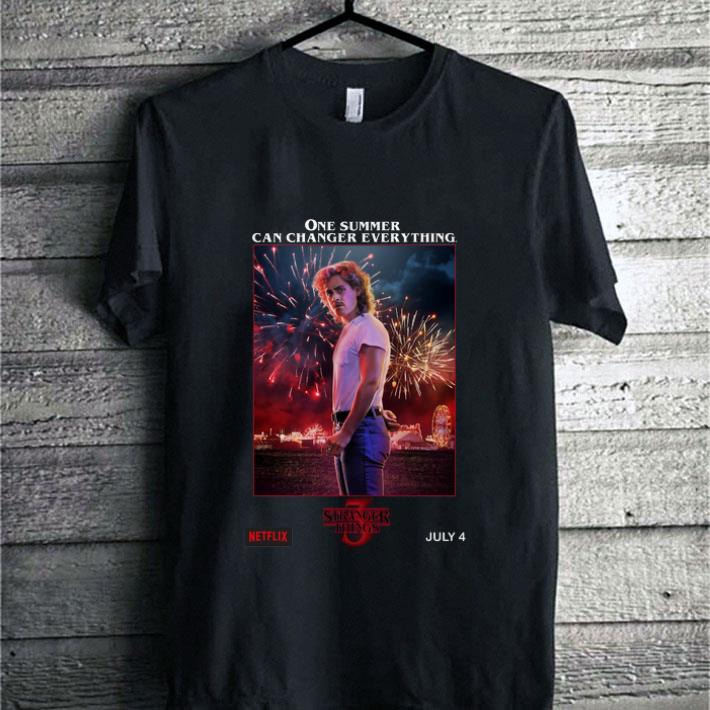 Pretty Billy Hargrove Stranger Things 3 one summer can change everything shirt