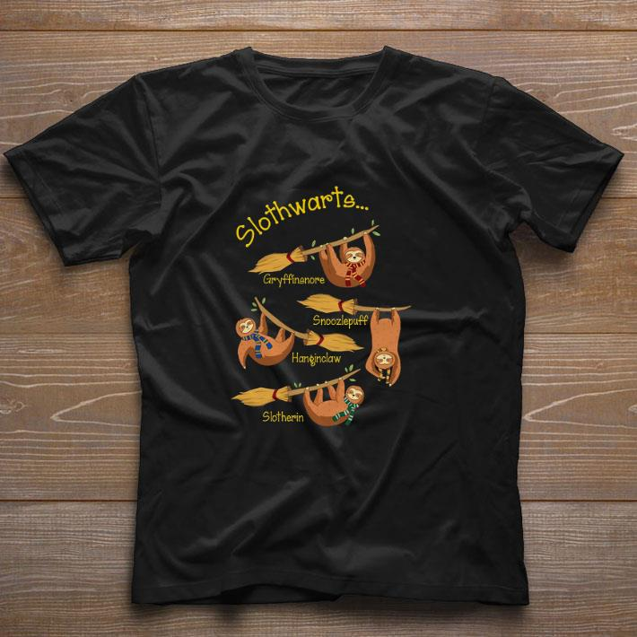 Pretty Slothwarts Gryffinsnore Snoozlepuff Hangiclaw Slotherin shirt