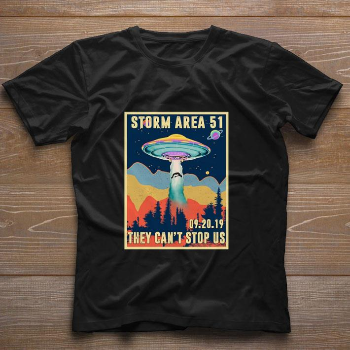 Pretty Storm Area 51 they can't stop us 09.20.19 shirt