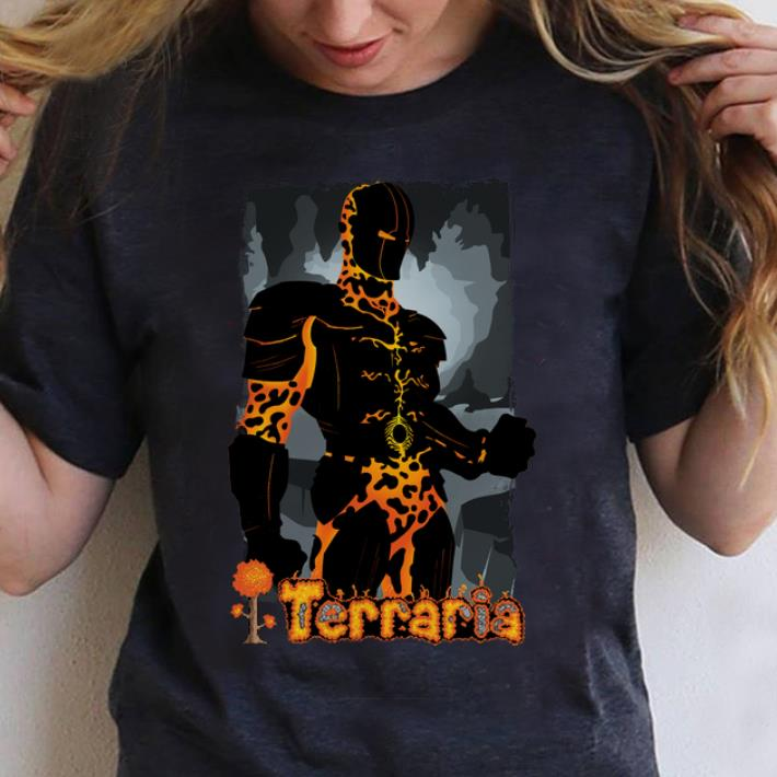 Pretty Terraria Hoodie Molten Armor shirt