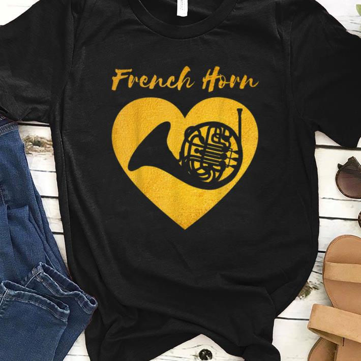 Pretty Vintage French Horn French Horn Player shirt