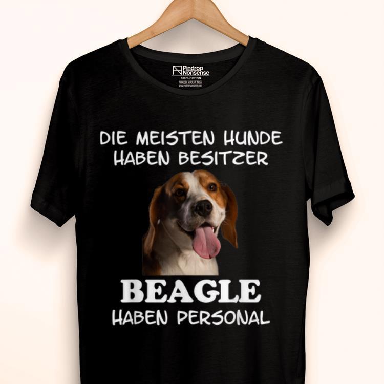 Top Beagle Hund Geschenk Damen Herren shirt