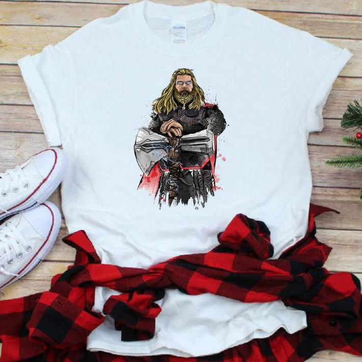 Top God Of Thunder Thor With Stormbreaker shirt