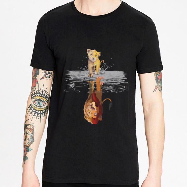 Top Simba Mirror Mufasa The Lion King 1994-2019 shirt