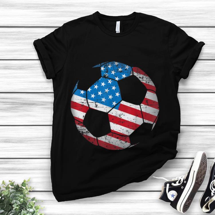 Top Soccer Ball American Flag shirt 1 - Top Soccer Ball American Flag shirt
