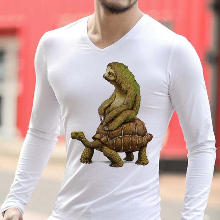 Top Speed is Relative Sloth And Turtle Moving Slowly shirt