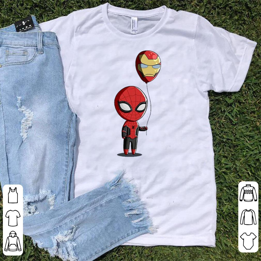 Top Spidey Balloon Spider Man And Iron Balloon Man shirt 1 - Top Spidey Balloon Spider Man And Iron Balloon Man shirt