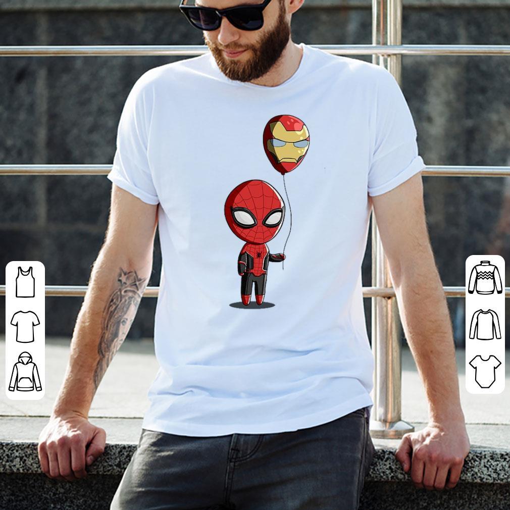 Top Spidey Balloon Spider Man And Iron Balloon Man shirt