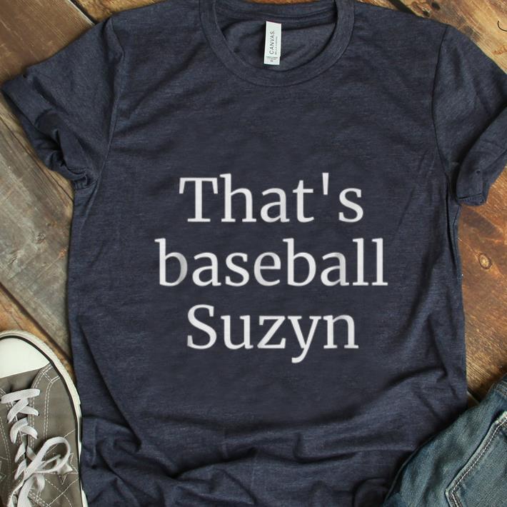Top That's Baseball Suzyn New York shirt