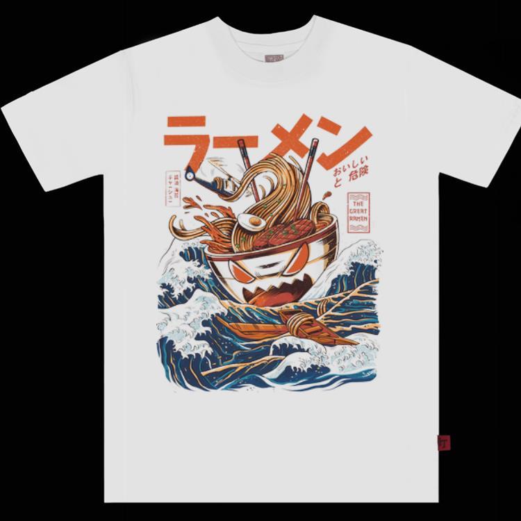 Top The Great Ramen Off Kanagawa Ramen Monster shirt 1 - Top The Great Ramen Off Kanagawa Ramen Monster shirt