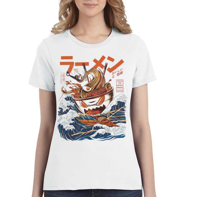 Top The Great Ramen Off Kanagawa Ramen Monster shirt