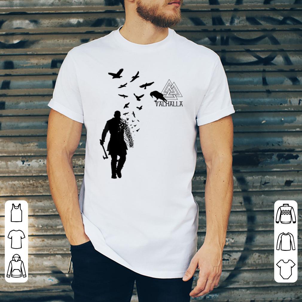 Top Valhalla Odin Ravens Xeire Viking Ragnar Lothbrok God Of War shirt
