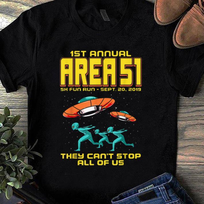 Awesome Annual Area 51 5k Fun Run Alien Raid shirt