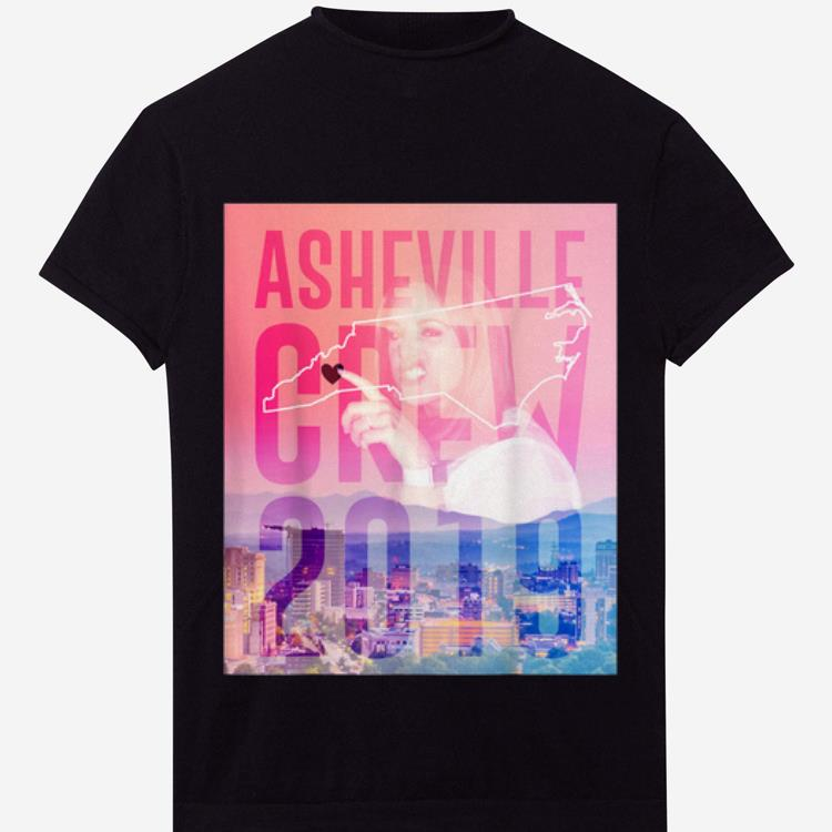 Awesome Asheville Crew 2019 Side Piece Action shirt