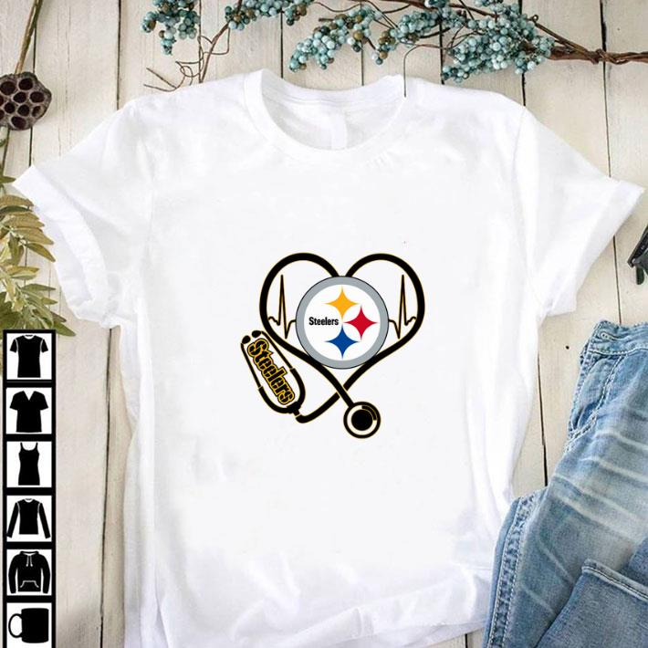 Awesome Pittsburgh Steelers Stethoscope shirt