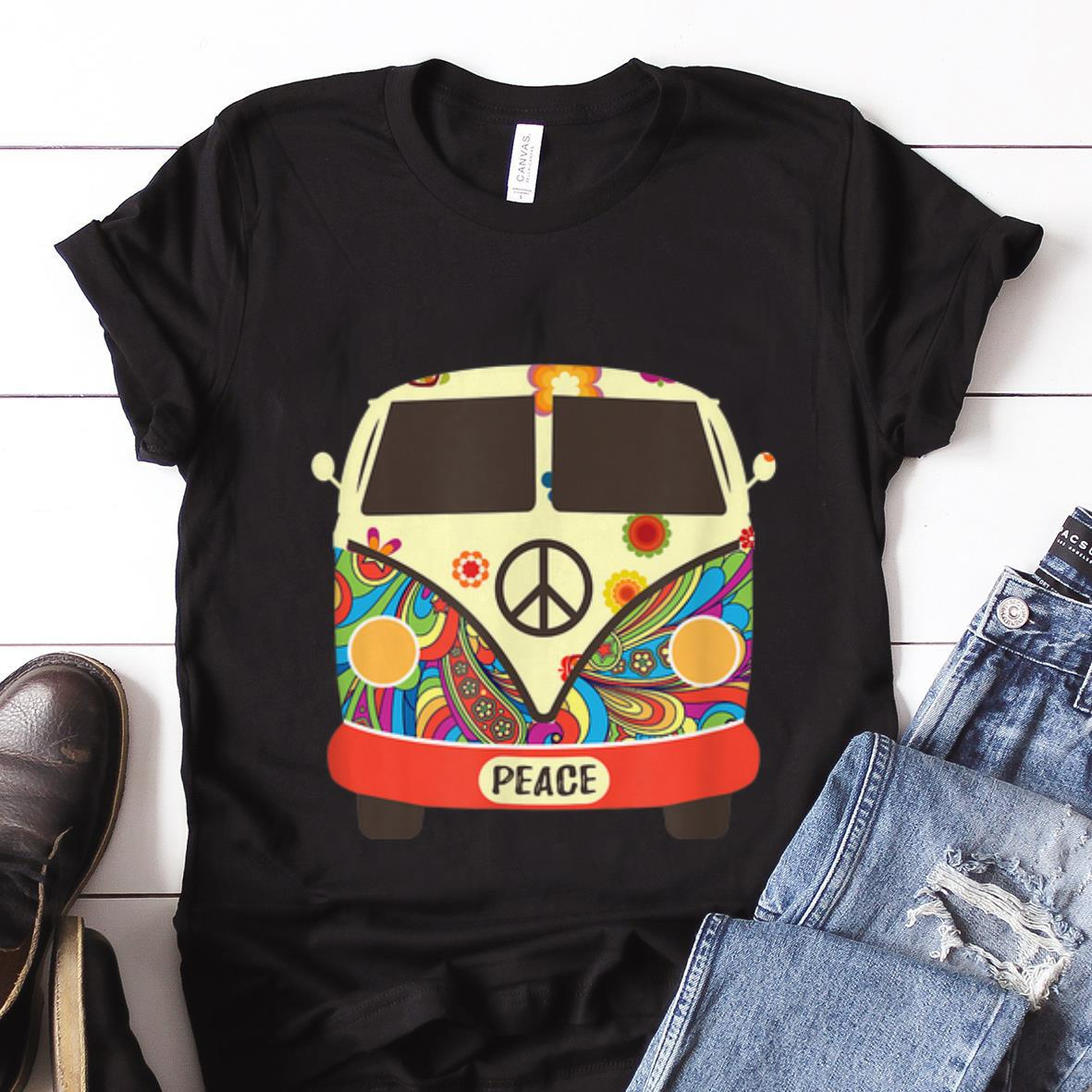 Best price Hippies Peace Bus Costume shirt