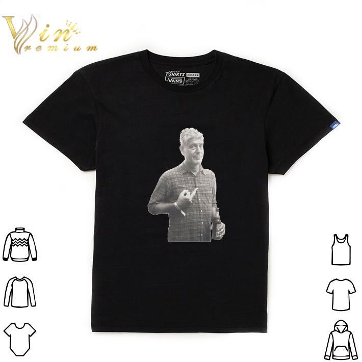 Hot Anthony Bourdain shirt