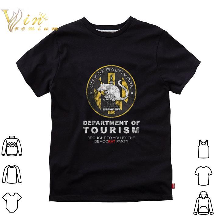 Hot City of Baltimore Department of Tourism shirt