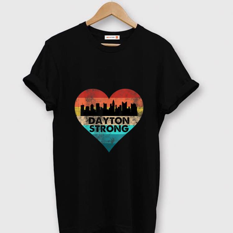 Hot Dayton Strong Ohio Heart Vintage shirt 1 - Hot Dayton Strong Ohio Heart Vintage shirt