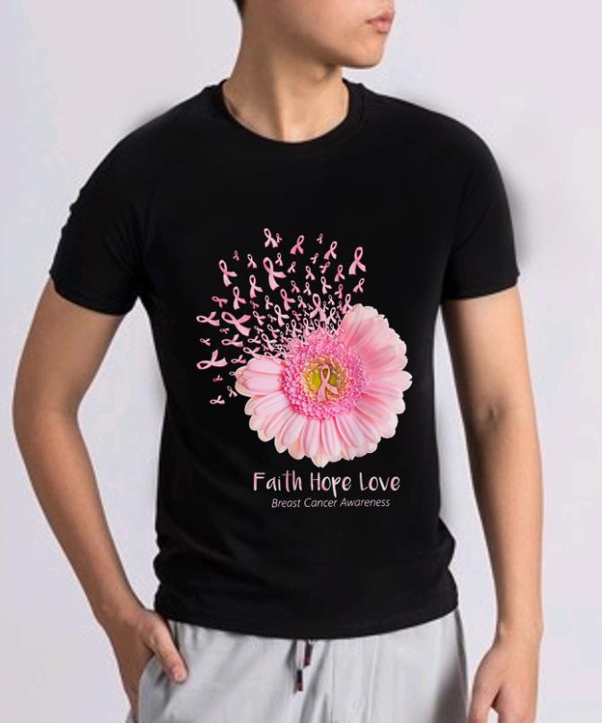 Hot Faith Hope Love Breast Cancer Awareness Pink Daisy Flower Shirt 2 1.jpg