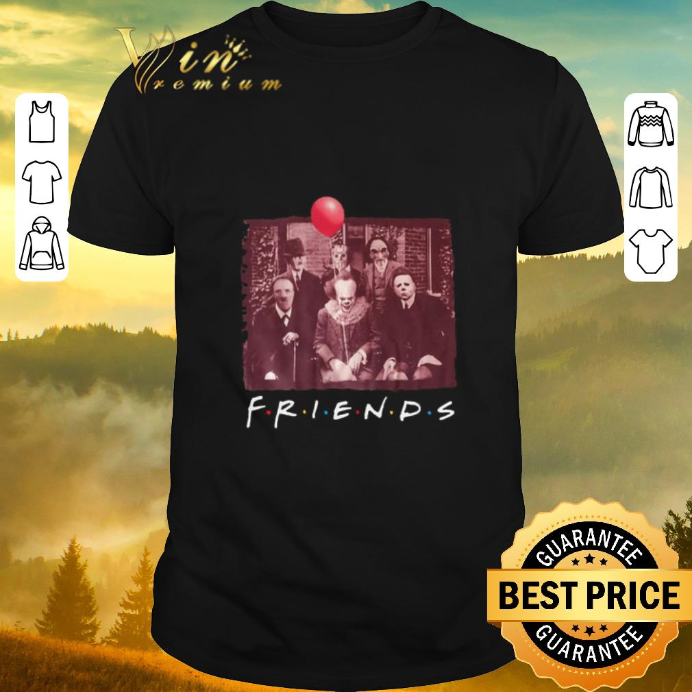 Hot Jason Voorhees Friends TV Show Horror movie characters halloween shirt