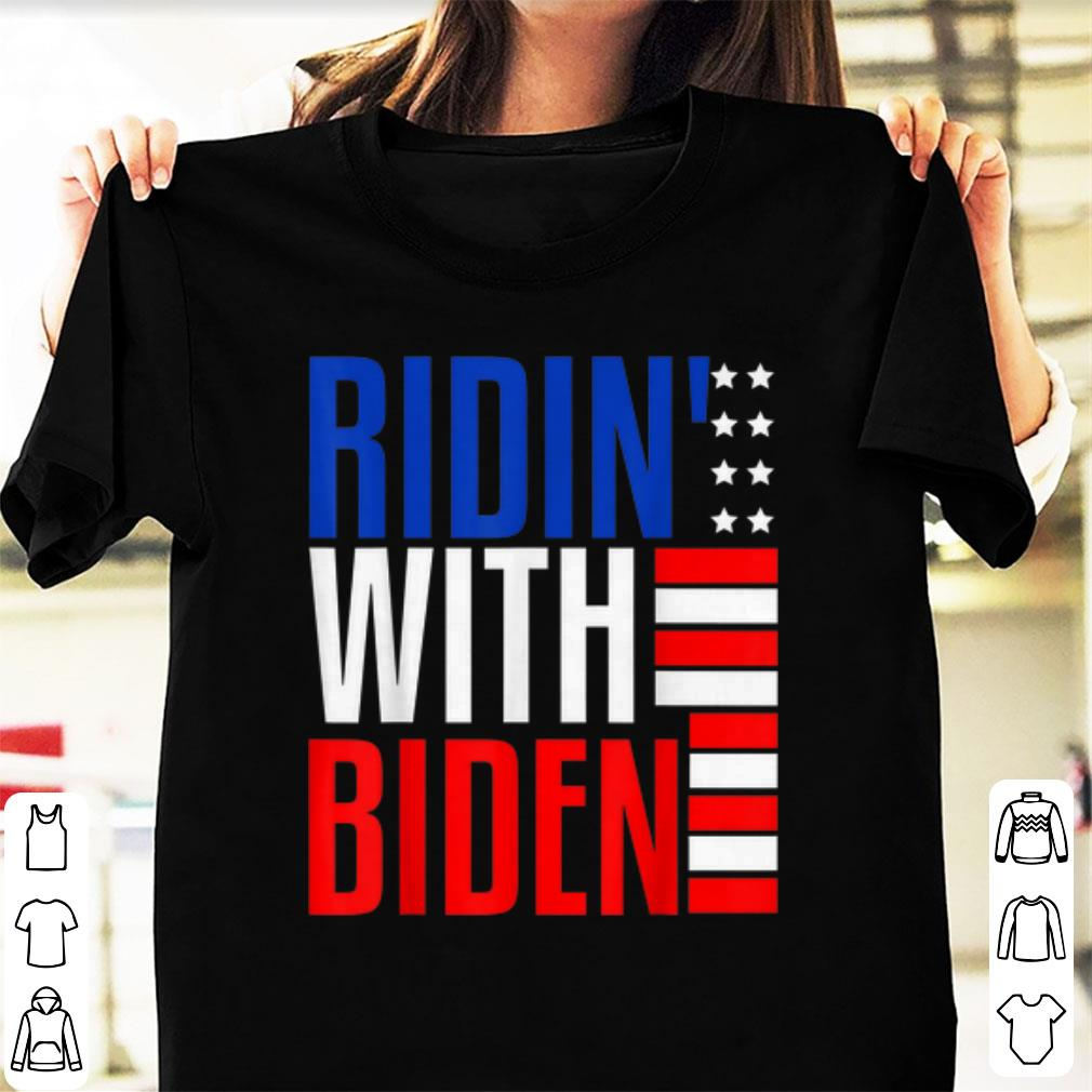 Hot Joe Biden Riden With President 2020 Election Riding With Biden American Flag shirt