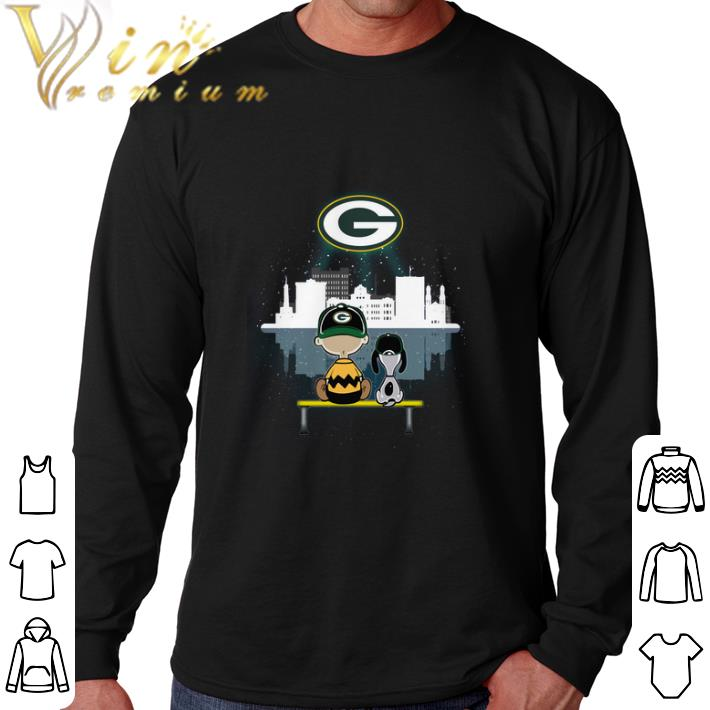 Hot Snoopy and Charlie Green Bay Packers shirt 4 - Hot Snoopy and Charlie Green Bay Packers shirt