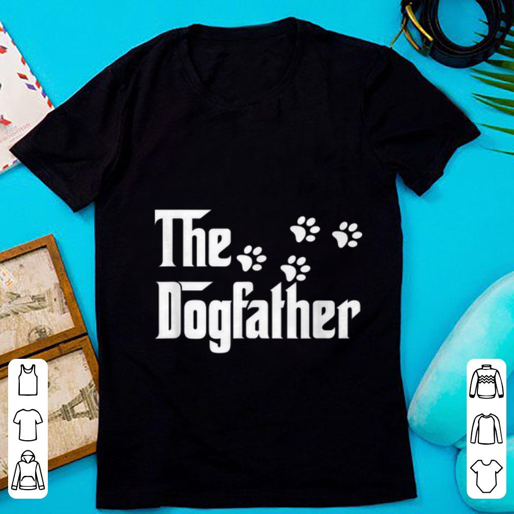 Hot The Dogfather Dog Paws shirt
