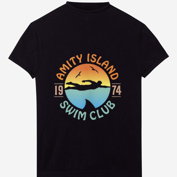 Nice Amity Island Swim Club 1974 shirt