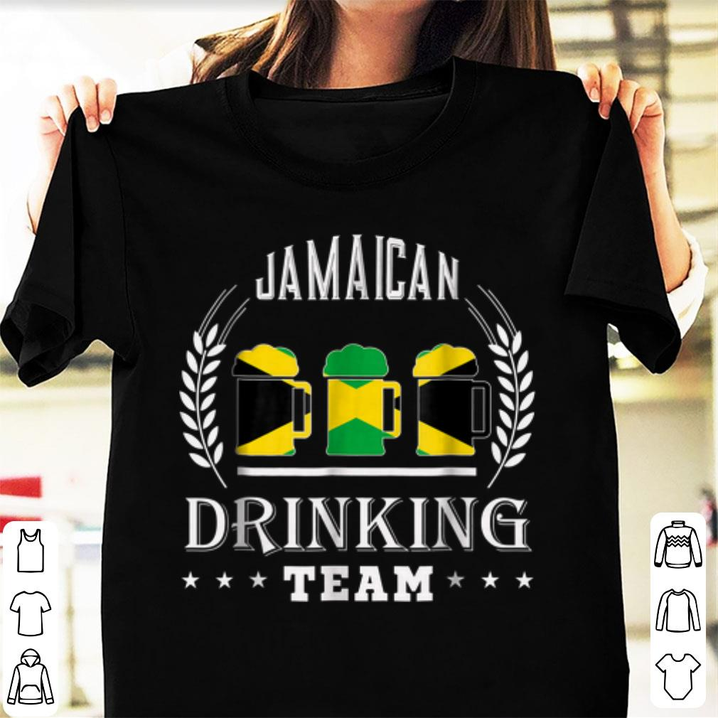 Nice Beer Jamaican Drinking Team shirt