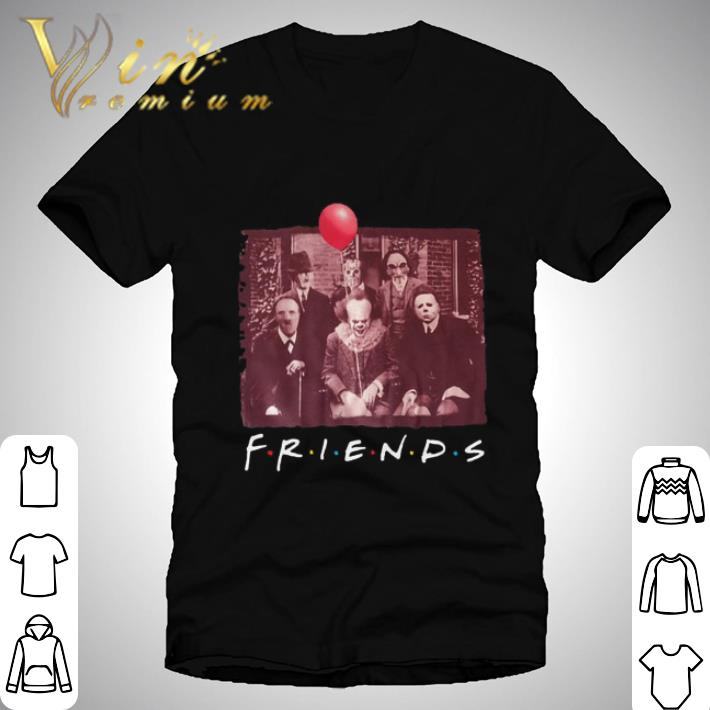 Nice Friends Horror film characters shirt