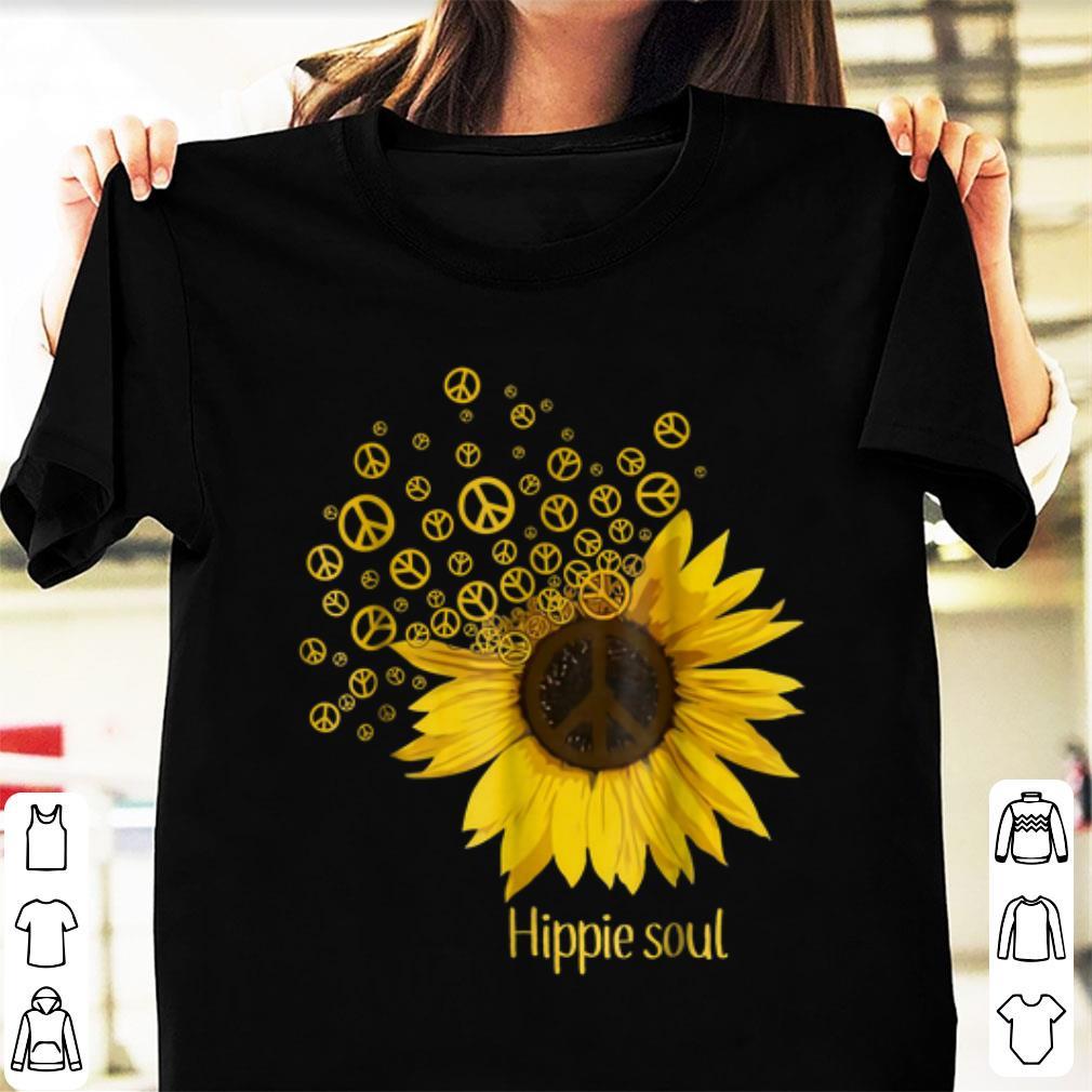 Nice Hippie Soul Sunflower Peace shirt