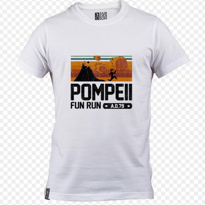 Nice Pompeii fun run AD 79 shirt