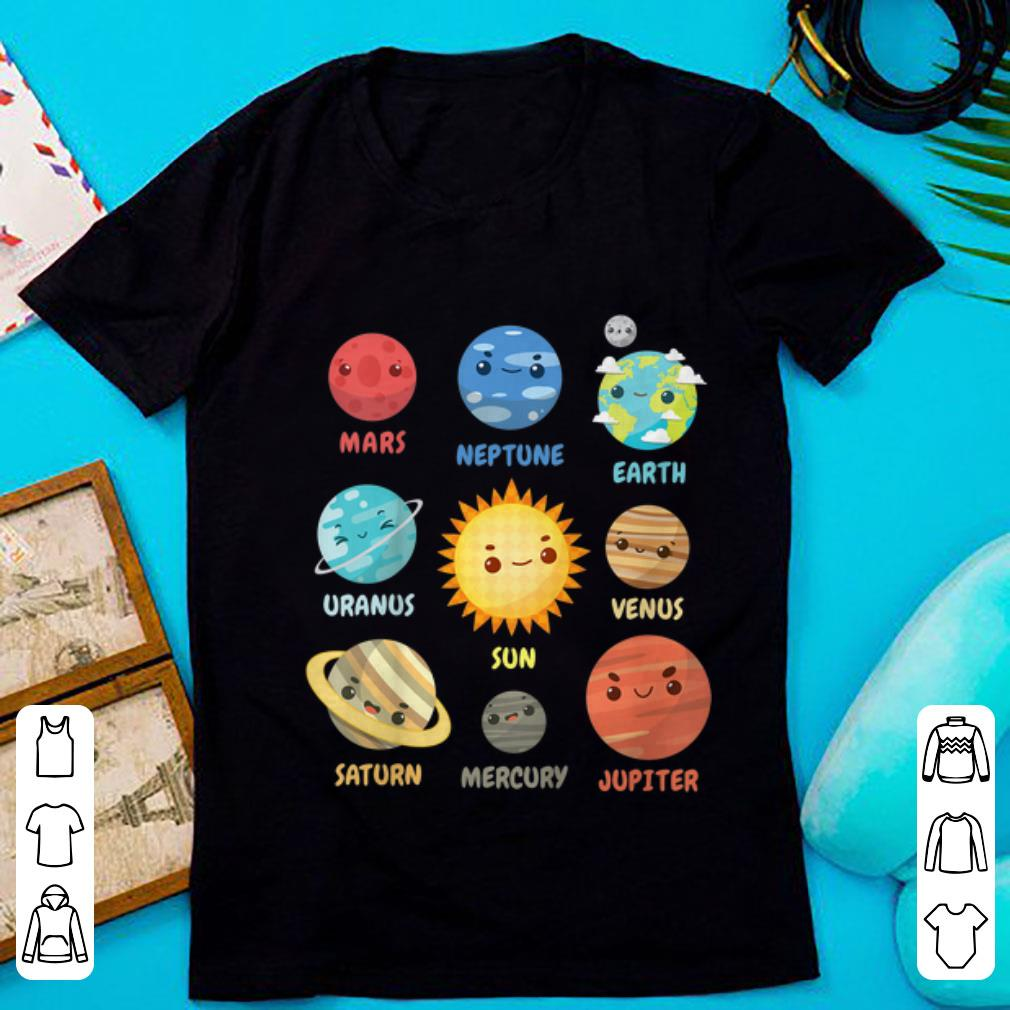 Nice Solar System Planets shirt