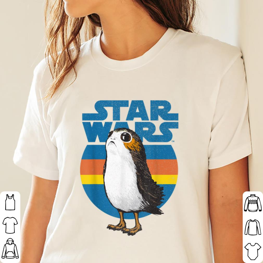 Nice Star Wars Last Jedi Porg Retro Shirt 3 1.jpg