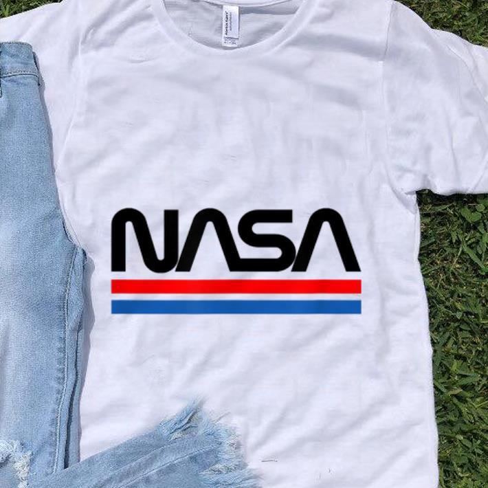 Nice The Official NASA Worm Logo shirt 1 - Nice The Official NASA Worm Logo shirt