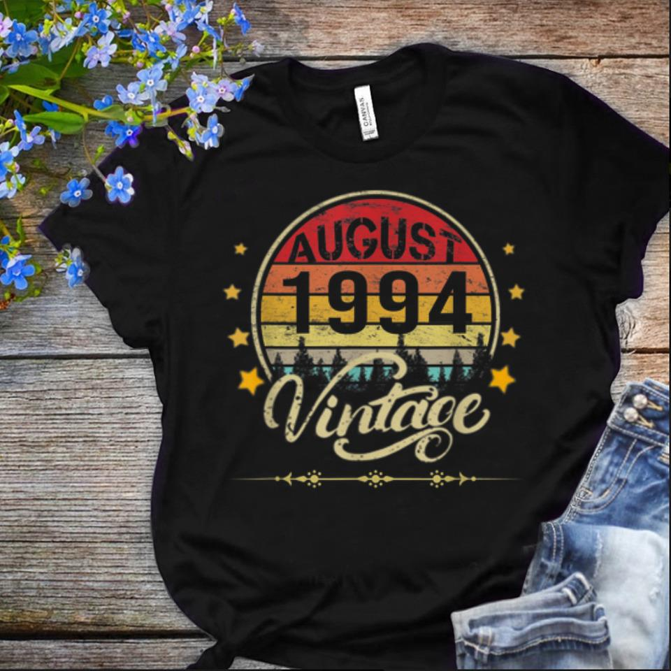 Offcical August 1994 Vintage Vintage shirt