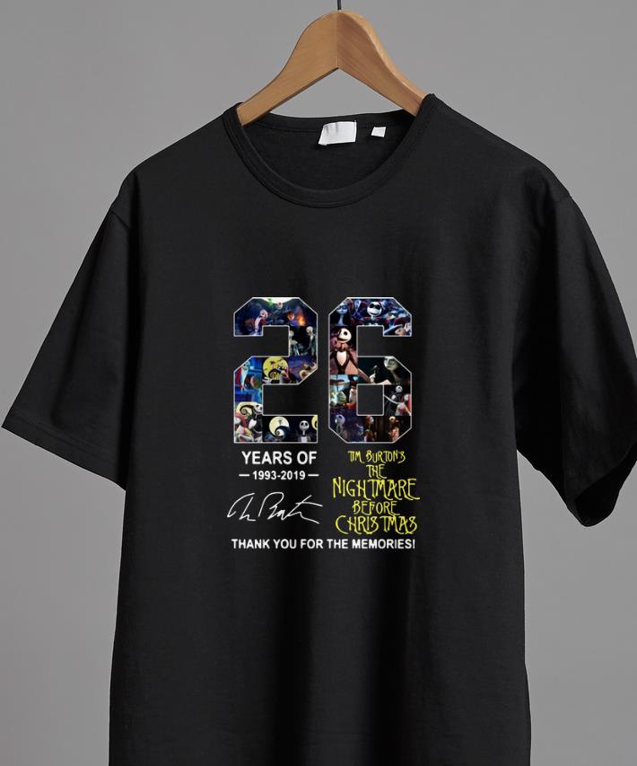 Official 26 Years Of Tim Burton S The Nightmare Before Christmas Signature Shirt 2 1.jpg