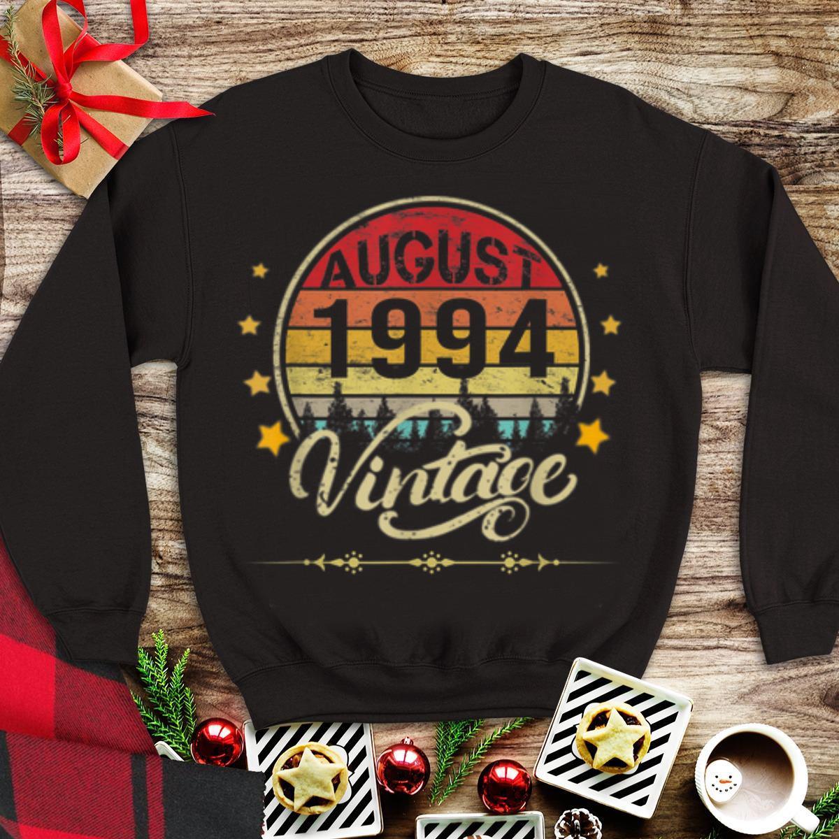 Official August 1994 Vintage Vintage hoodie