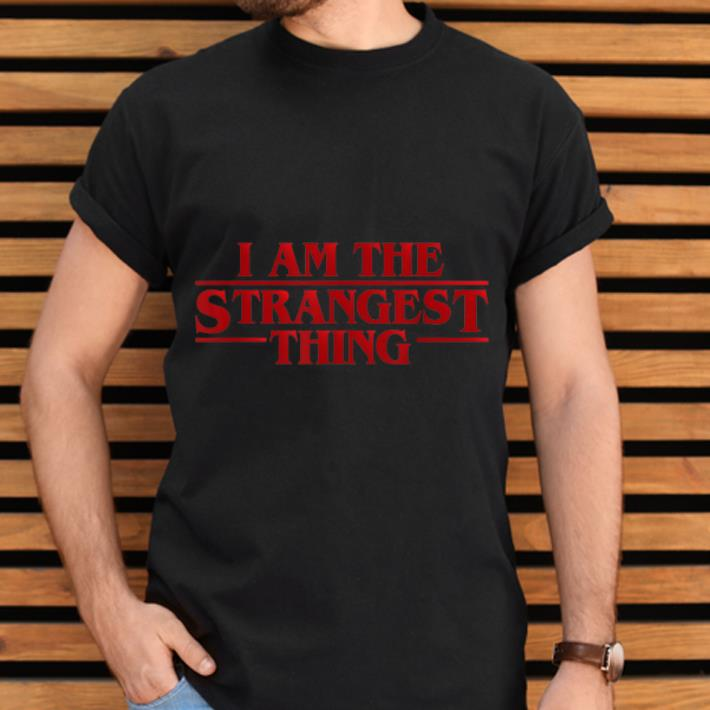 Official Strangest Thing Outcast Geeks And Nerds shirt
